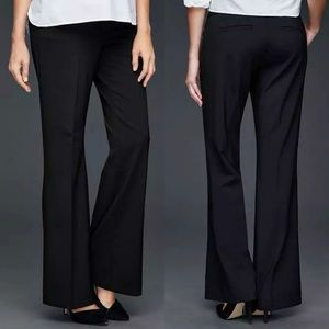 Gap Maternity Perfect Trouser Black Demi Panel